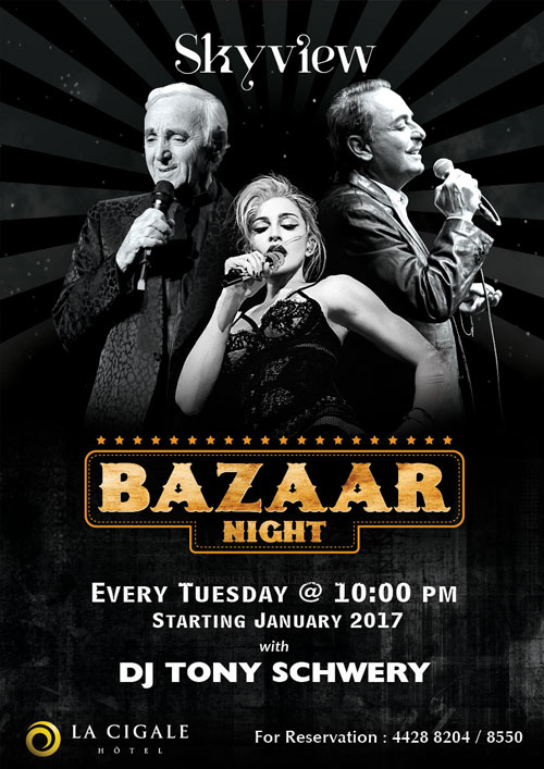 La Cigale Hotel - Bazaar Night