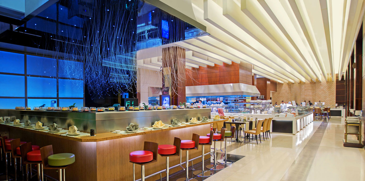 Yen Sushi Bar and Live Cooking Kitchen - La Cigale Hotel
