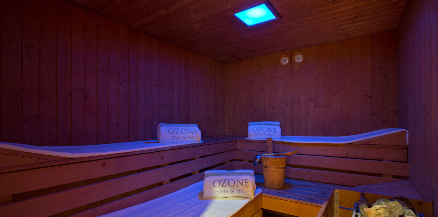 Ozone Gym & Spa Sauna Room - La Cigale Hotel